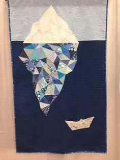 Iceberg quilt at QuiltCon | Right Sides Together