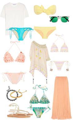 vestidos de baño, trajes de baño primavera 2013, fashion, trends, tendencias moda, zimmermann, vix, , trajes de baño,  bañadores, mallas, tutrend, tu trend, vestidos de baño estampados, sandalias planas, bolso de playa, agent procateur, emamo, lisa marie fernandez, la perla, monica vinader, miu miu