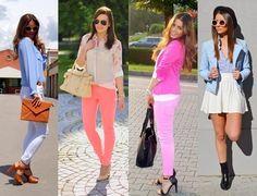 #mode #fashion Mode Germany: Beeindruckende Pastellfarben in Frühling Kombinati...