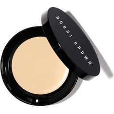 Bobbi Brown Long-Wear Even Finish compact foundation (52 CAD) ❤ liked on Polyvore featuring beauty products, makeup, face makeup, foundation, beauty, bobbi brown cosmetics, liquid foundation, long wearing foundation, oil free liquid foundation and long wear foundation