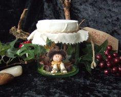 Marta - Jar Fairy - WILLOW WOOD FAIRY FOLK by Trisha Martin