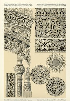 Byzantine and old russian ornaments from the collection of Prince Grigory Gagarin, 1887