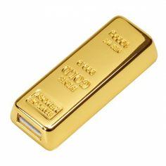 Idée cadeau gadget, la clé Usb 8Go Lingot D'Or - La Chaise Longue