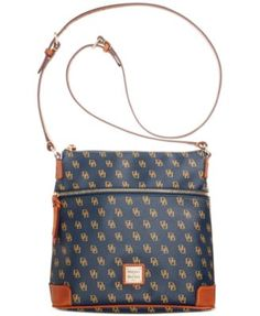 c581997da528 Dooney   Bourke Gretta Crossbody Handbags   Accessories - Macy s. Navy  Crossbody BagTote ...