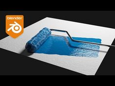 (17) Blender Tutorial - Paint Roller Effect w/ Dynamic Paint - YouTube