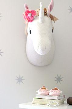Serene and Whimsical Nursery - Project Nursery Unicorn Wall Art, Unicorn Rooms, Unicorn Bedroom, Unicorn Head, Nursery Wall Decor, Nursery Room, Girl Nursery, Room Decor, Whimsical Nursery