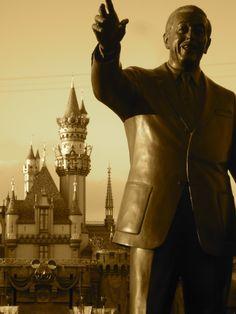 Partners Statue, Walt Disney, Disneyland #disneyland #waltdisney #disney  Photo by Eric Embacher, EKE Photography