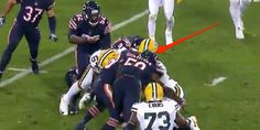 Terrifying hit that marred Packers-Bears game could result in a suspension thanks to a new rule