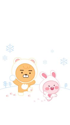 Kakao Little Friends, (Wallpaper 9 : Asian Wallpaper, Soft Wallpaper, Iphone Wallpaper, Aesthetic Backgrounds, Aesthetic Wallpapers, Apeach Kakao, Kakao Friends, Friends Wallpaper, Cute Characters