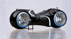 For the low, low price of $40,000, you can own a light cycle from the movie 'Tron: Legacy.'