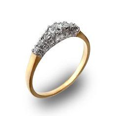 Ślubowisko.pl - Pierścionek zaręczynowy z brylantem Engagement Rings, Jewelry, Fashion, Enagement Rings, Moda, Wedding Rings, Jewlery, Jewerly, Fashion Styles