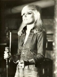 Debbie Harry.... can i have platinum blonde hair and look like a cat? please and thanks.