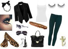 """""""Hunter green pants"""" by yolicakes on Polyvore"""