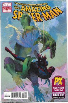 Amazing Spider-man #688 SDCC Marvel Comic