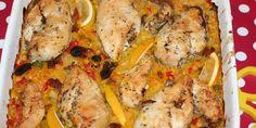 Super lækker ret med kylling, der er fuldstændig proppet med smag. Quiche, Recipies, Low Carb, Chicken, Dinner, Vegetables, Breakfast, Karry, Blog
