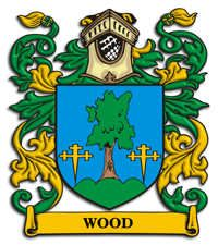 Wood family crest Scotland