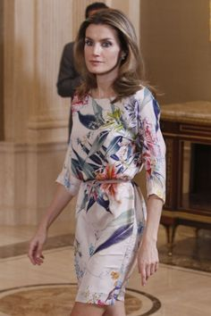 la princesa Letizia (in Zara)