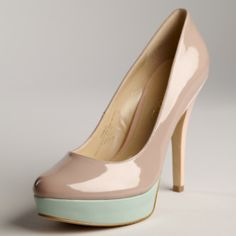 Love the color combo, looking for a good nude shoe