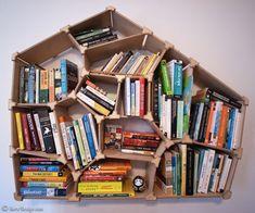 Personalize Your Geometric Bookshelf Online