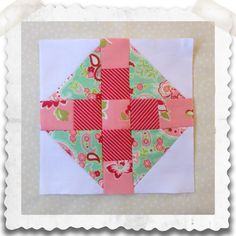 Threadbare Creations- Chatelaine Free BOW Sampler Quilt Block 51