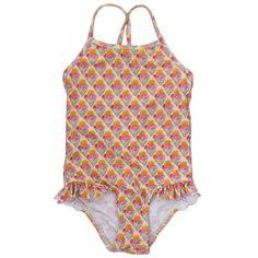 soft gallery ice cream swimsuit - swim - girl | Thumbeline Bohemian Girls, Vintage Bohemian, Kids Swimwear, Swimsuits, My Little Girl, Tankini, Cool Style, Bodysuit