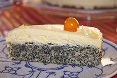 Illes super schneller Mohnkuchen ohne Boden mit Paradiescreme und Haselnusskrokant 3