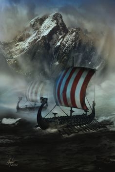 The Longships by ~Alegion on deviantART