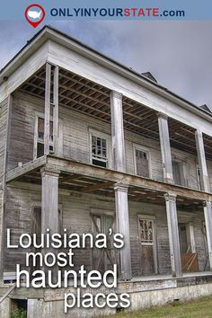 Travel | Louisiana | Attractions | Real Haunted Places | Haunted US | Ghost Stories | Abandoned Places | Paranormal Activity | Haunted House | Scary | Ghosts | Haunted Hotel | Things To Do | Places To Visit | Haunted Cemetery | Louisiana Tombs | Shreveport | Bonnie and Clyde | Louisiana Haunted Places