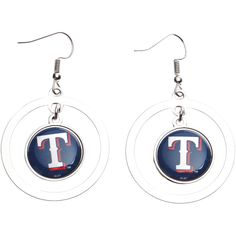 Texas Rangers Women's Spiderman Marvel Hoop Earrings - $7.19