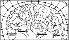 Vacation bible school on pinterest bible coloring pages for Daniel and the fiery furnace coloring page