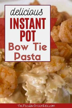 We love using this simple dump and start Instant Pot Bow Tie Pasta Recipe! | Instant Pot Bow Tie | Instant Pot Bow Tie Pasta | Instant Pot Bow Tie Pasta Recipes | Instant Pot Bow Tie Noodles | Instant Pot Bow Tie Alfredo | Instant Pot Pasta | Instant Pot Pasta Noodles | Instant Pot Pasta Recipes | Instant Pot Pasta Recipes Easy | Easy Instant Pot Pasta | #instantpotpasta #bowtiepasta Dinner Recipes Easy Quick, Easy Pasta Recipes, Quick Easy Meals, Pork Recipes, Healthy Dinner Recipes, Copycat Recipes, Instant Pot Pasta Recipe, Pressure Cooking, Food Print