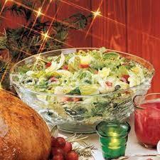 Receta de Ensalada de navidad