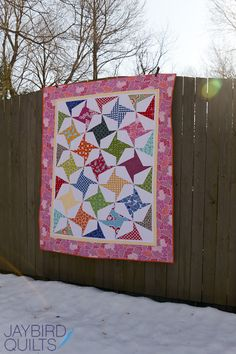 Next up is Firecracker! I mixed a few fabric collections in making this quilt.Often I stick with one collection at a time... so it was real...