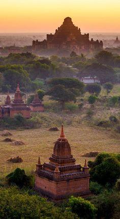 The Temples of Bagan(Pagan), Mandalay, Myanmar. India