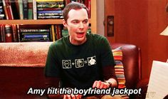 Sheldon and Amy's relationship