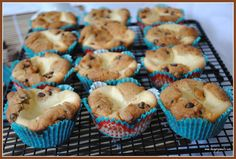 Chocolate Chip ROLO Cheesecake Muffins (Close enough to Cupcakes for me :-)