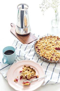 Krucha tarta z owocami - pyszny i prosty przepis na ciasto Cereal, Cooking, Breakfast, Food, Tarts, Baking Center, Eten, Meals, Brewing