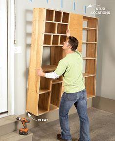 Garage Storage: Backdoor Storage Center | The Family Handyman