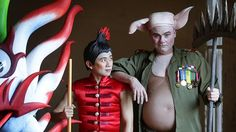 INTERVIEW: Some of the cast of Monkey.Journey to the West talk to The Daily Telegraph about the stage show. The Daily Telegraph, Journey To The West, Stage Show, Little Monkeys, Ronald Mcdonald, Behind The Scenes, Interview