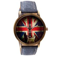 Quartz-Watch Clock For Girls Women Ladies Special Dial Design Flag Leather Band Analog Quartz Vogue Wrist Watches Relojes Mujer     Buy Jewelry At Wholesale Prices!     FREE Shipping Worldwide     Get it here ---> http://jewelry-steals.com/products/quartz-watch-clock-for-girls-women-ladies-special-dial-design-flag-leather-band-analog-quartz-vogue-wrist-watches-relojes-mujer/    #buy_jewelry