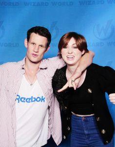 Karen Gillan and Matt Smith, Chicago Wizard Con 2014