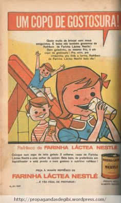Farinha Láctea Nestlé(1961)