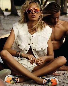 leahcultice:  Karolina Kurkova by Giampaolo Sgura for Vogue Spain June 2014