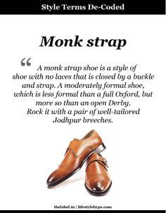 Monk Strap @PS ...