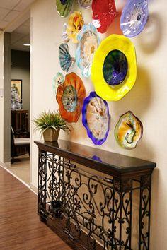 Office cooridor - eclectic - hall - atlanta - Embellish interiors