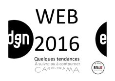 Les grandes tendances du web pour 2016 #internet #tendances #réseaux