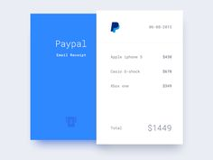 DailyUi - Day #17,  Hey People, Today's challenge is to create a Email receipt. Comments are welcome!  Check the Hi-resolution  Press L to show some love :)