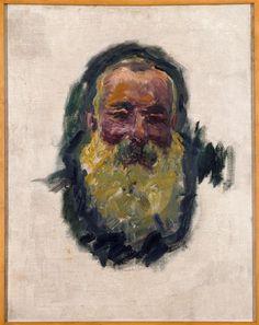 Autoportrait,1917  Monet Claude (dit), Monet Claude-Oscar (1840-1926)
