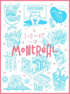 Summer in Montreal by Julien Roudaut Plus de découvertes sur Déco Tendency.com…