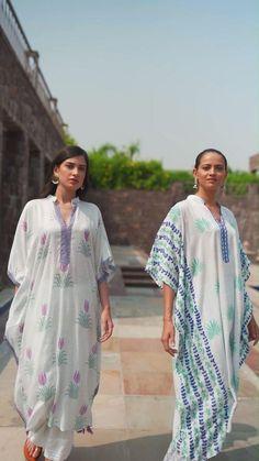 Kaftan Designs, Kurta Designs Women, Blouse Designs, Indian Attire, Indian Wear, Indian Suits, Party Wear Dresses, Maxi Dresses, Summer Dresses